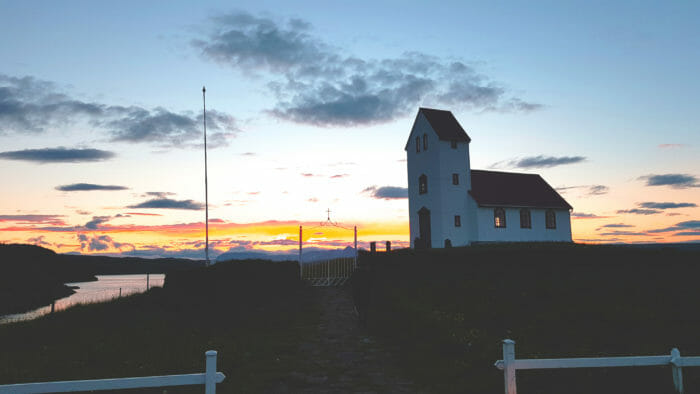 Church on Lake (Úlfljótsvatnskirkja)