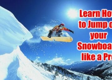 how to jump on a snowboard