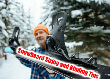 snowboard sizing and binding