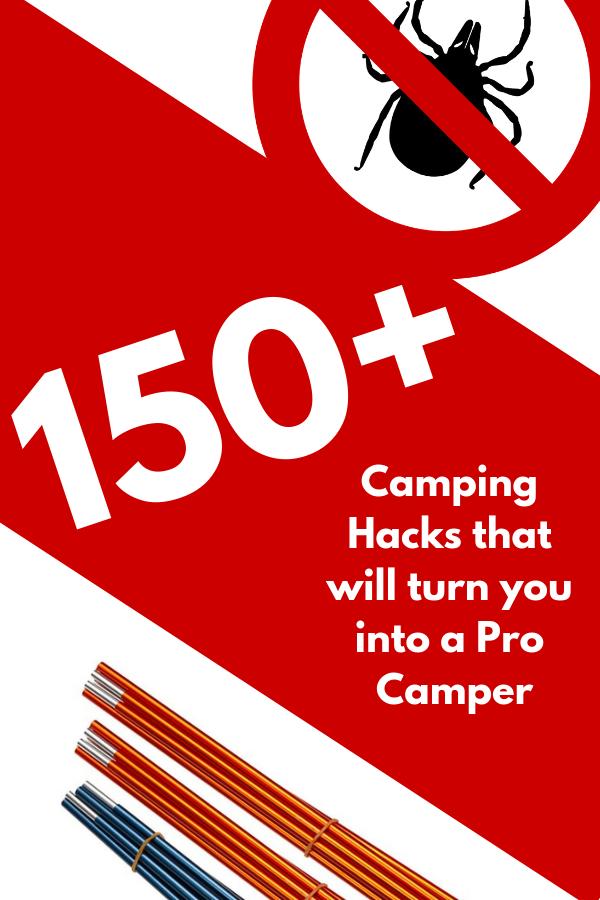 150+ camping hacks