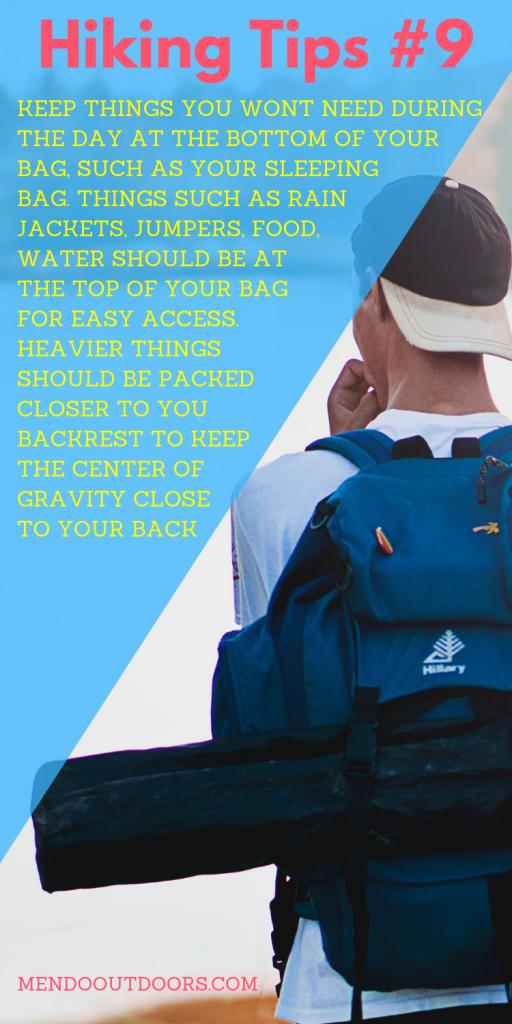 Hiking Tips #9