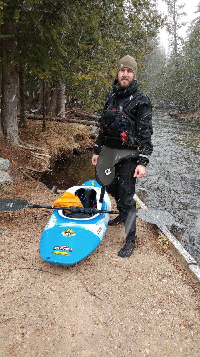 Tim Gallaway - Kayaking