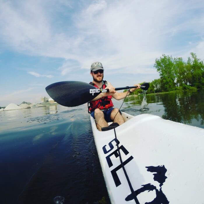 Tim Gallaway - Kayak